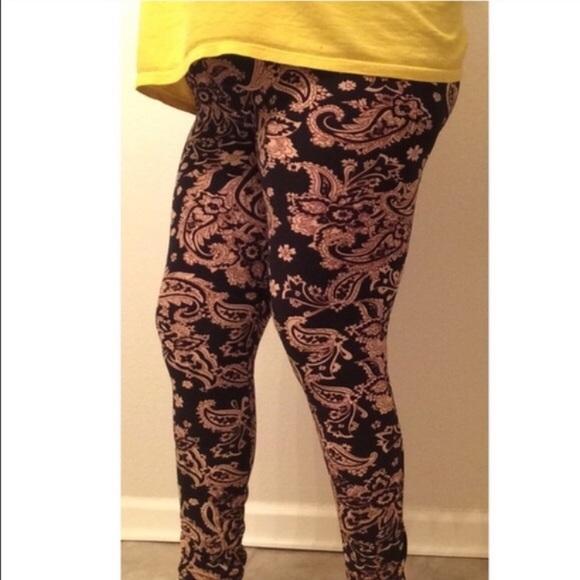 Pants - ⭐️CLOSET CLOSING Paisley leggings